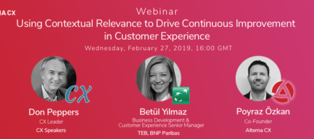 Using Contextual Relevance to Drive Continuous Improvement in Customer Experience